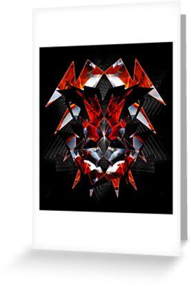 Red Exo 034303 by Vadim Epstein
