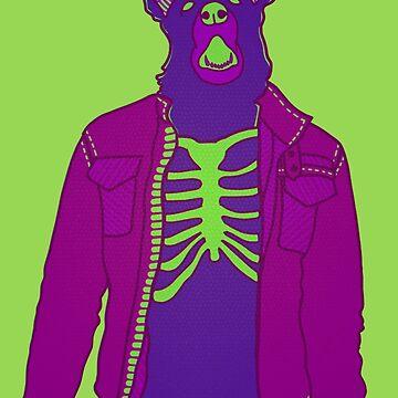 Purple Jacket Dog by Naivuren