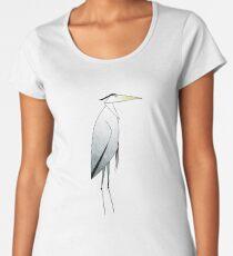 Heron Pattern Women's Premium T-Shirt