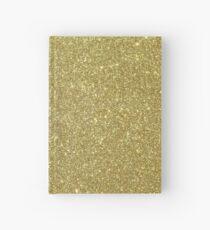 Antique Champagne Gold Burnished Glitter Hardcover Journal