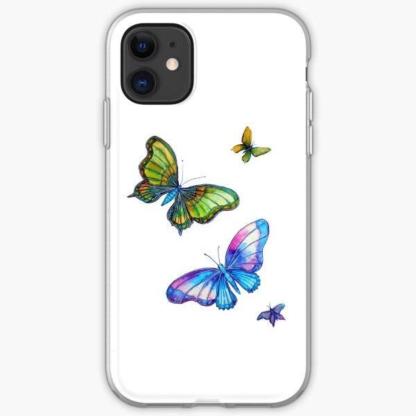 Butterflies - Follow the Leader iPhone Soft Case