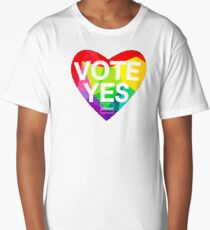 vote yes in marriage equality Long T-Shirt