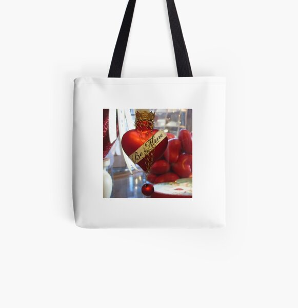 Itty Bitty Ornament With Crown All Over Print Tote Bag