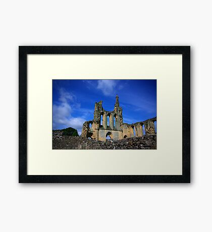 Byland Abbey -2 Framed Print