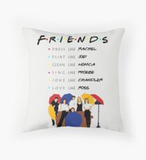 Be like Friends • TV show Throw Pillow