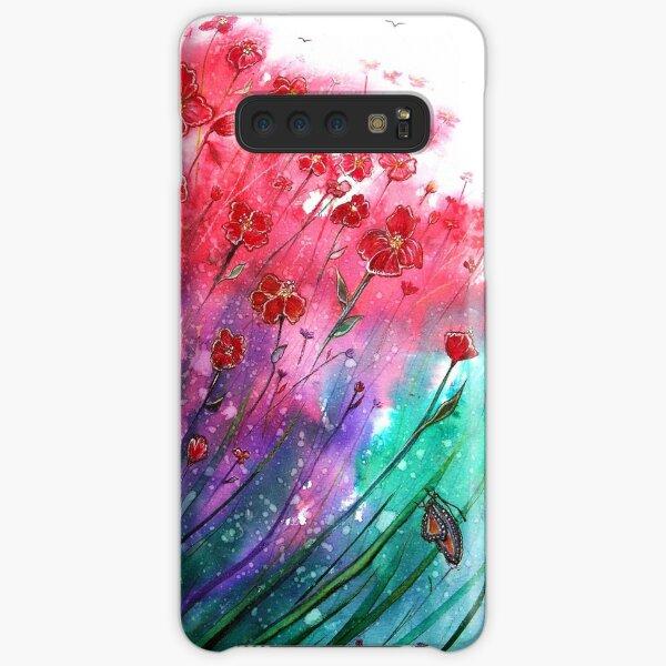 Dancing Poppies Samsung Galaxy Snap Case