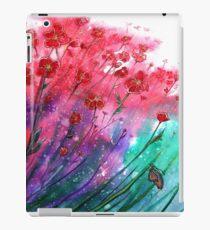 Blumen - tanzende Mohnblumen iPad-Hülle & Klebefolie