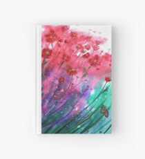 Flowers - Dancing Poppies Hardcover Journal