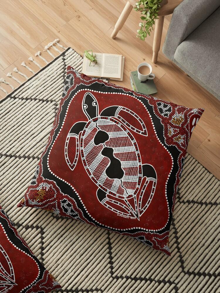 Aboriginal Art – Turtle Dreaming by HogarthArts