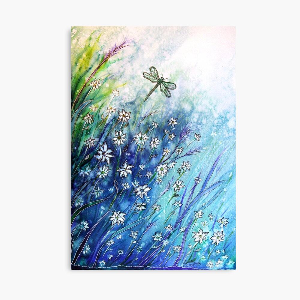 Dainty Daisies Canvas Print