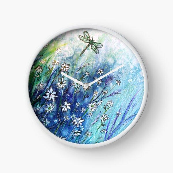 Dainty Daisies Clock