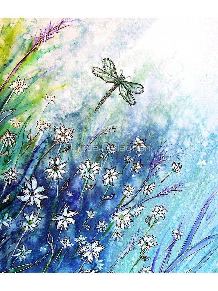 Dainty Daisies by LindArt1