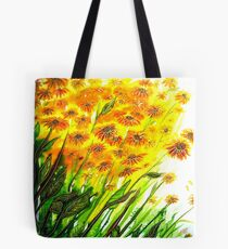 Sizzling Sunflowers  Tote Bag