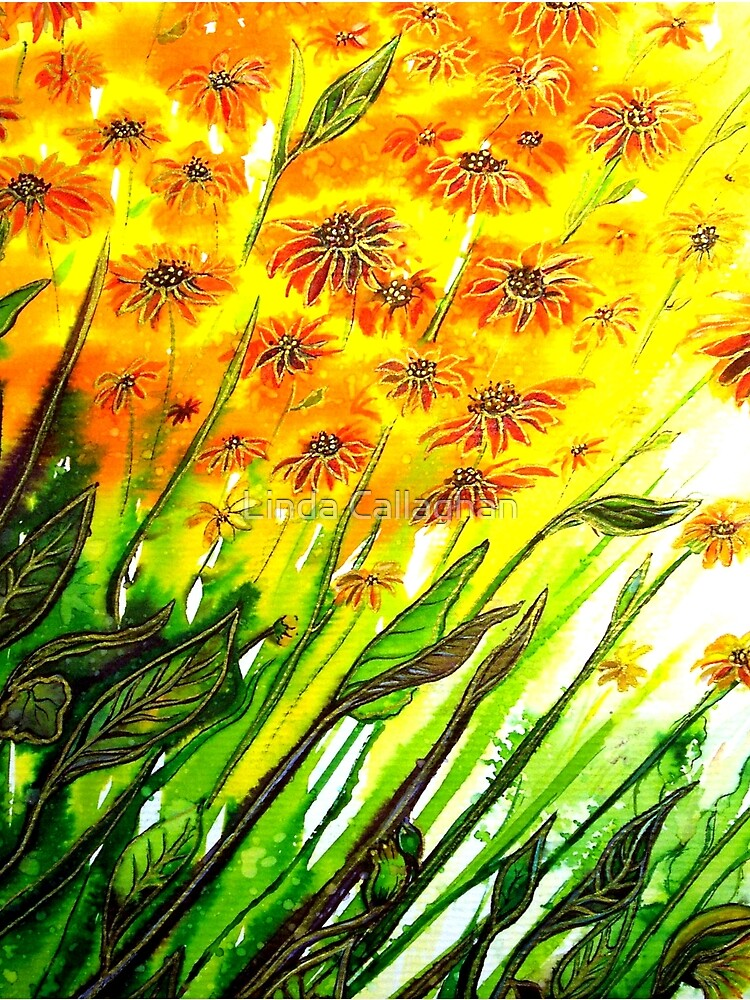 Sizzling Sunflowers  by LindArt1