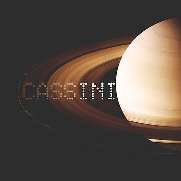 Cassini Fades Into Saturn by tanyaofmars