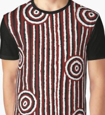 Aboriginal Art – Campsites Graphic T-Shirt