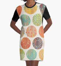 Himmelskörper T-Shirt Kleid