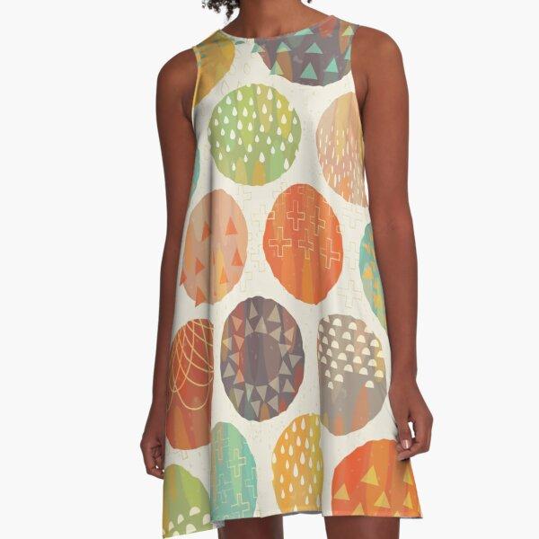 Celestial Bodies A-Line Dress