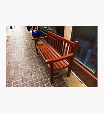Wet seat Photographic Print