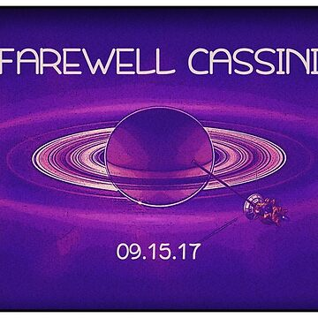 Farewell Cassini by tanyaofmars