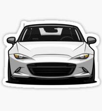 Mazda MX-5 Miata 4th Generation 2015 White Sticker