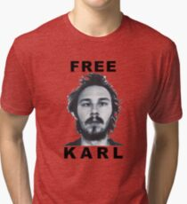 Free Karl Tri-blend T-Shirt