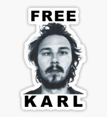 Free Karl Sticker