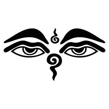 Buddha Eyes by Teepack