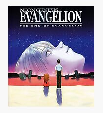 The End of Evangelion Photographic Print
