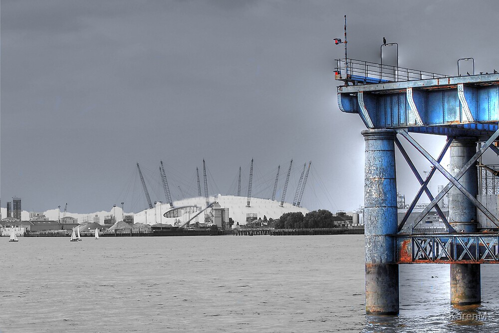 O2 Arena, Greenwich by KarenM