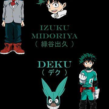 Izuku Midoriya (Deku) season 1 by SteveG2007