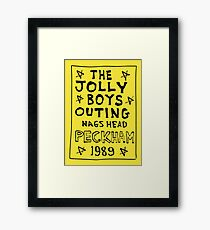 Only Fools And Horses - Jolly Boys Outing Framed Print