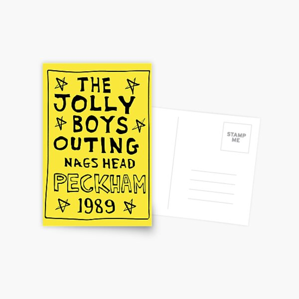 Only Fools And Horses - Jolly Boys Outing Postcard