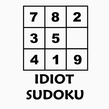 Idiot Sudoku by Lenny36