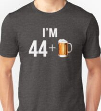 Funny 45th Birthday 45 Year Old Beer Lovers Gift T-Shirt