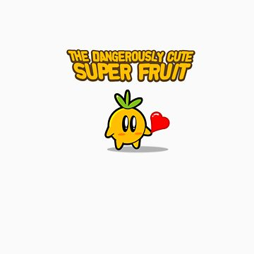 The Dangerously Cute Super Fruit by Monkeymagic2000