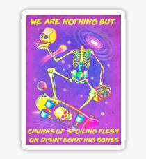 Nihilisa Frank (Thomas Ligotti Quote) Sticker