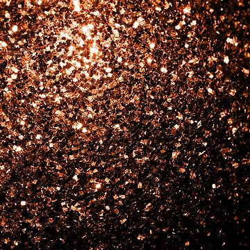 Beautiful Bronze Orange Brown glitters sparkles by PLdesign
