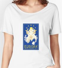Europa - still riding on. Women's Relaxed Fit T-Shirt