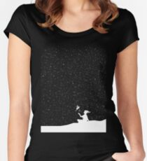 Starry Night Women's Fitted Scoop T-Shirt