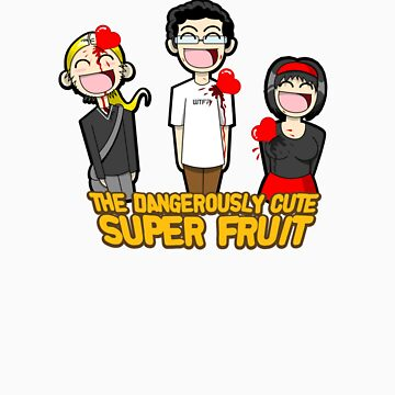 Attack of The Dangerously Cute Super Fruit by Monkeymagic2000