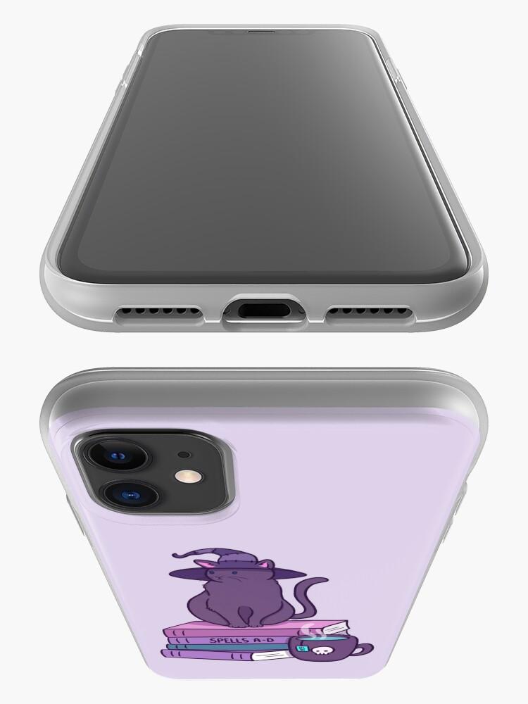 Alternate view of Feline Familiar iPhone Case & Cover