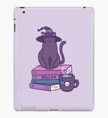 Katzenartige Vertraute iPad-Hülle & Klebefolie