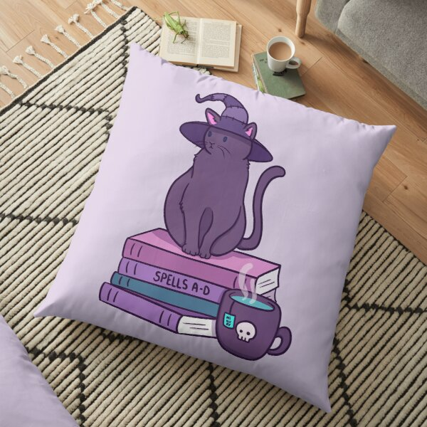 Feline Familiar | Nikury Floor Pillow