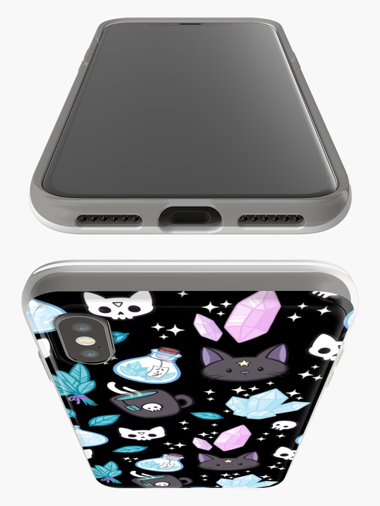 Alternate view of Herb Witch // Black iPhone Cases & Covers