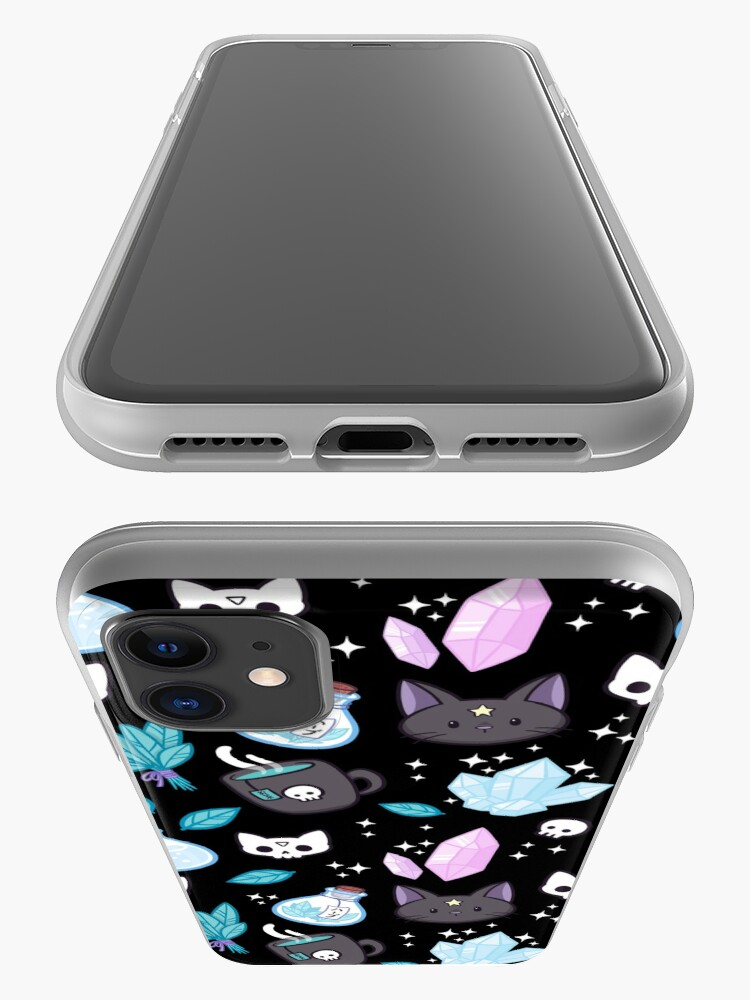 Alternate view of Herb Witch // Black iPhone Case & Cover