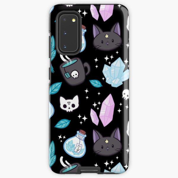 Herb Witch // Black Samsung Galaxy Tough Case
