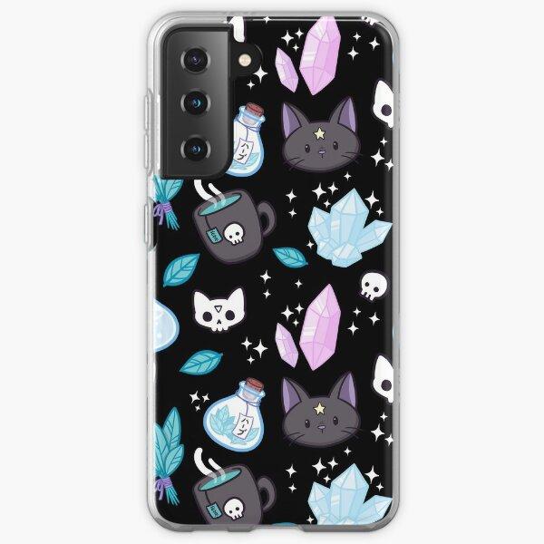 Herb Witch // Black | Nikury Samsung Galaxy Soft Case
