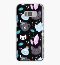 Herb Witch // Black Samsung Galaxy Case/Skin