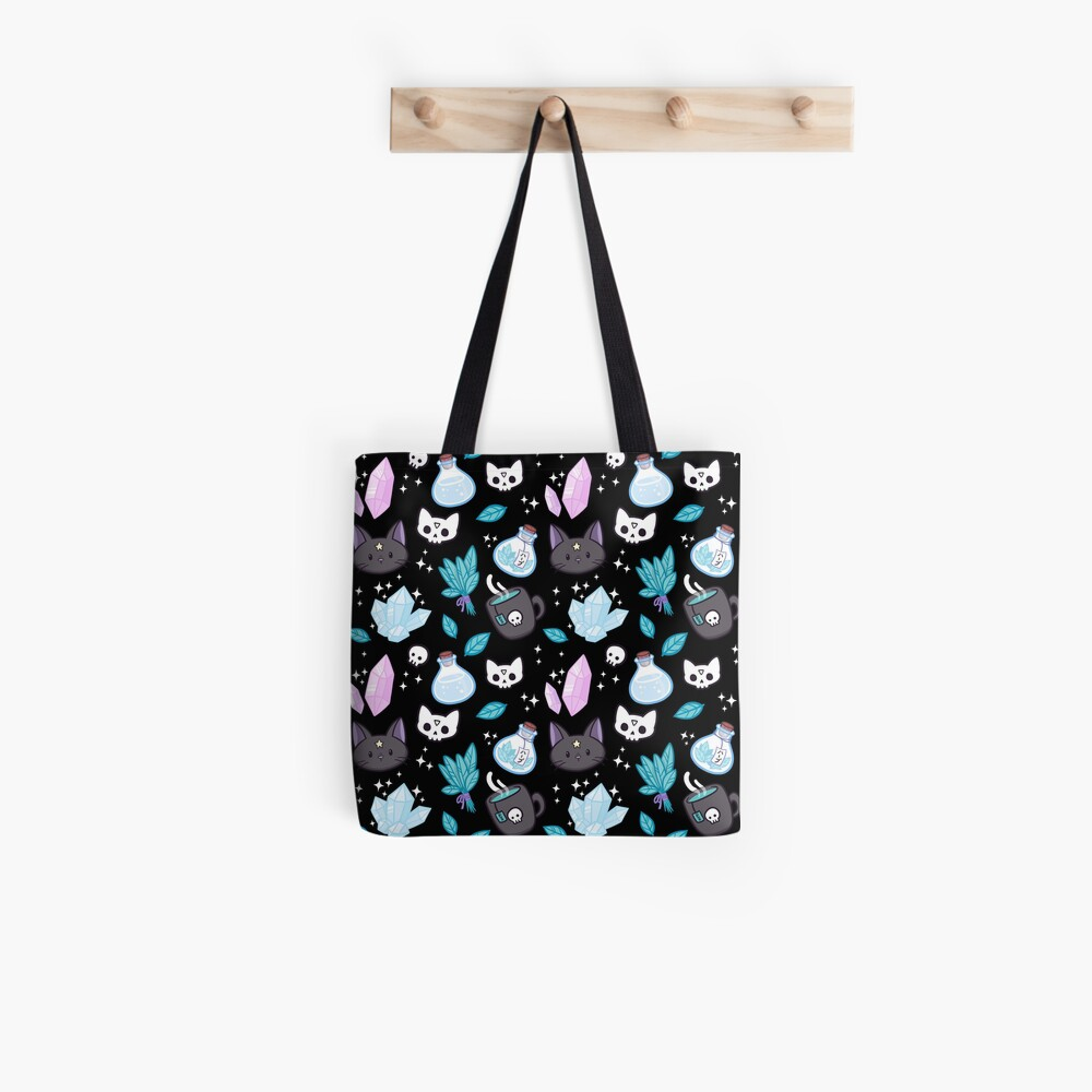 Herb Witch // Black Tote Bag